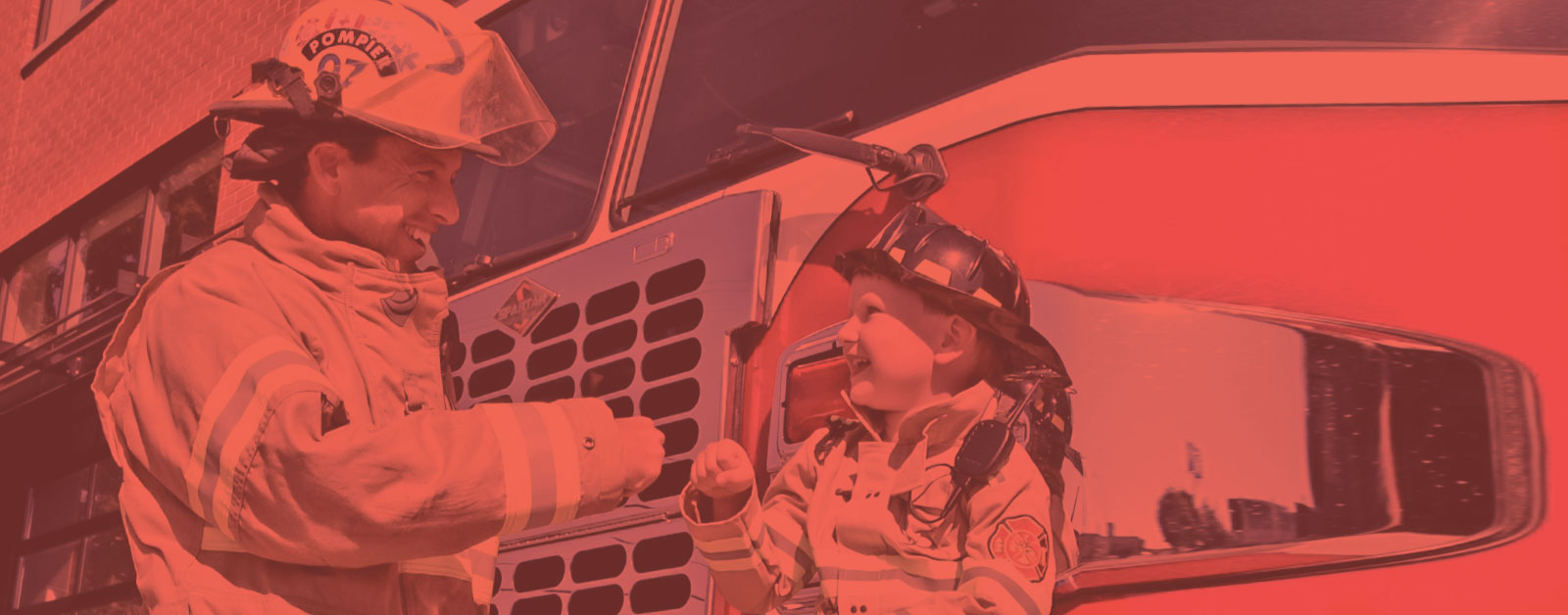 bannière pompier
